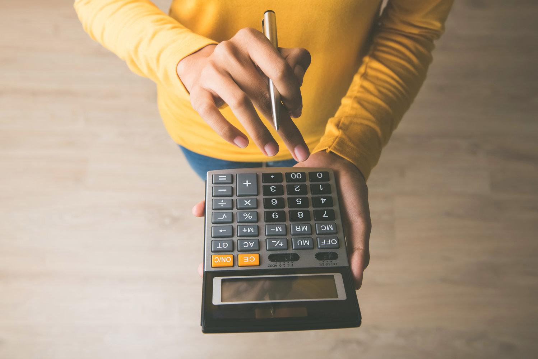 calcul taux intérêt