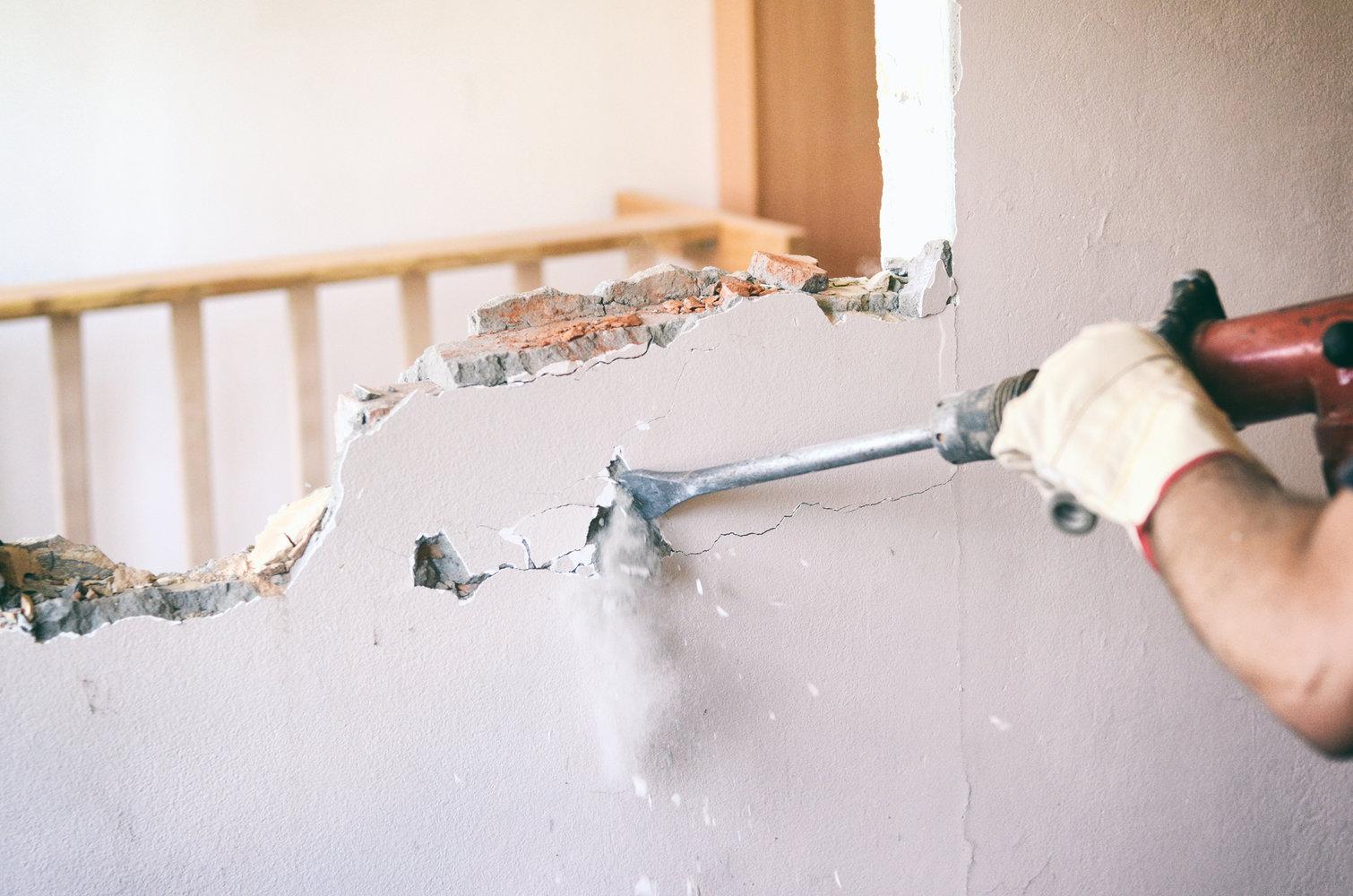 Comment modifier ou abattre un mur porteur ?