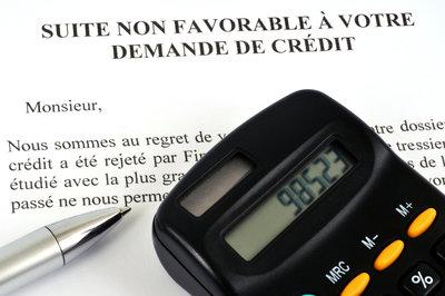 Refus de crédit