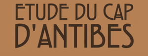 ETUDE DU CAP D'ANTIBES