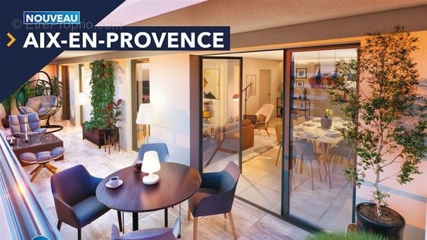 Appartement à AIX-EN-PROVENCE