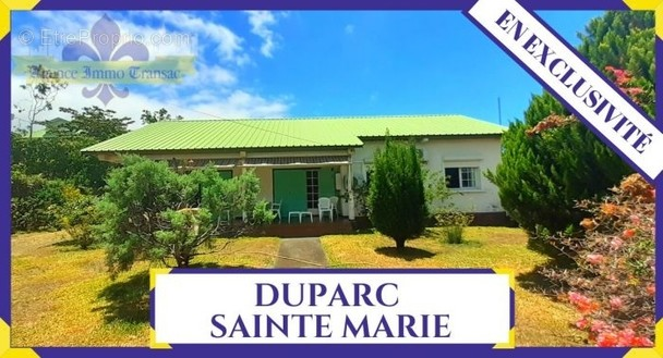 Maison à SAINTE-MARIE