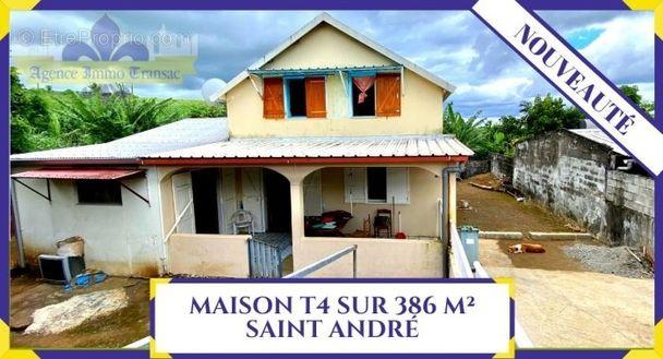 villa  - Maison à SAINT-ANDRE