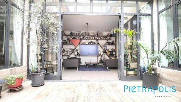 Patio privé LOFT - Appartement à LYON-6E