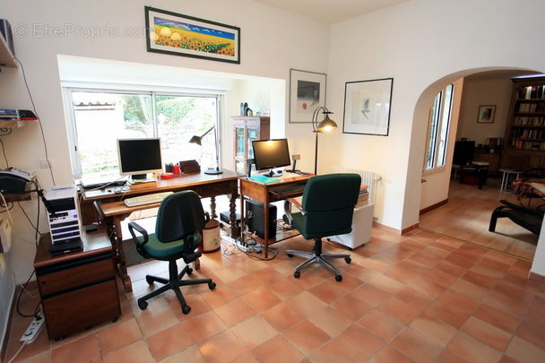 Détail salon - Maison à MOUGINS