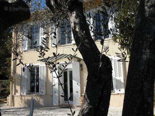 Vue façade - Maison à MOUGINS